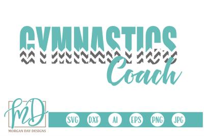 Gymnastics Coach SVG