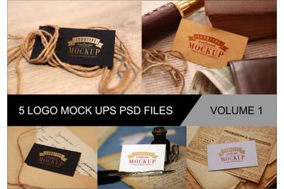 Photo Realistic Mock-ups Set of 5 V1