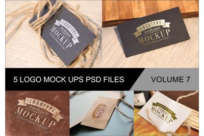 Photo Realistic Mock-ups Set of 5 V7