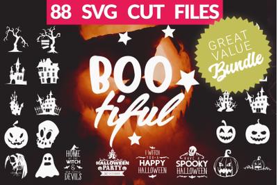 Halloween SVG Bundle | Halloween Quotes & SVG Cut Files