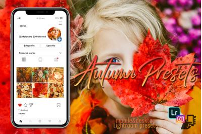 Autumn presets, Summer Lightroom halloween