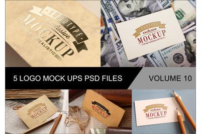 Photo Realistic Mock-ups Set of 5 V10