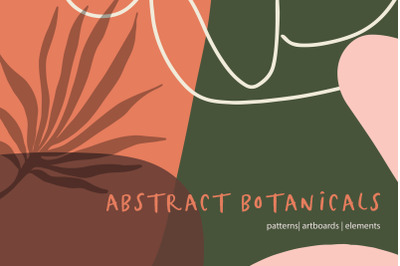 Abstract Botanicals Patterns & Elements
