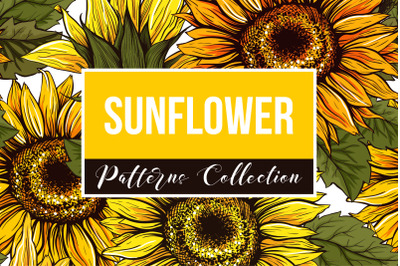 Sunflower Patterns Collection