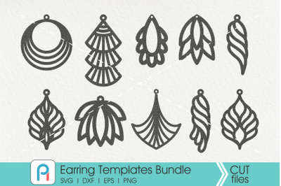 Earrings Template svg, Leather Earrings Template svg,Teardrop Earrings