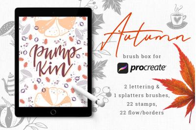 Autumn Brush Box for Procreate