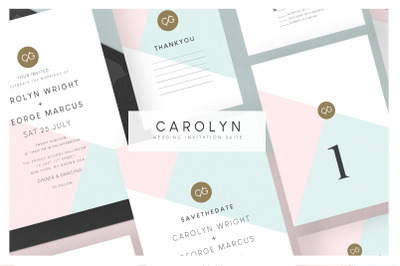 Wedding Invitation Suite - Carolyn