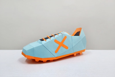 DIY Soccer Shoe - 3d papercraft