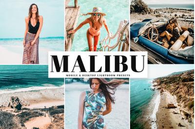 Malibu Mobile & Desktop Lightroom Presets