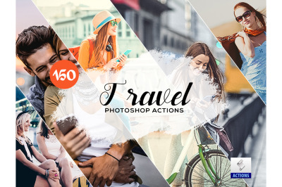 150 Travel Photoshop Actions