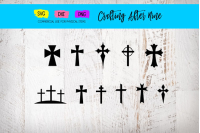 Cross Bundle, Grunge Cross, Distressed Cross, Christian , Christ , Cro