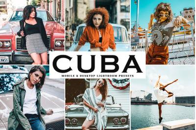 Cuba Mobile & Desktop Lightroom Presets