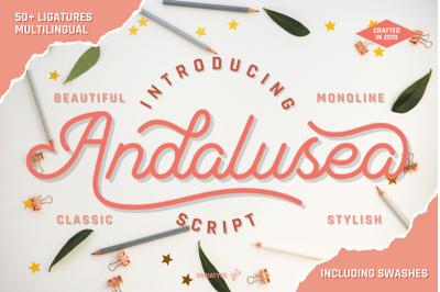 Andalusea Script