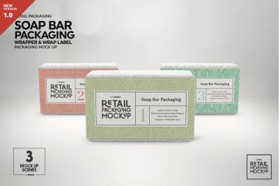Download Kraft Soap Bar Package Mockup Yellowimages