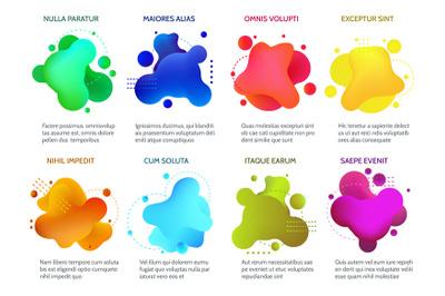 Gradient 3d shapes