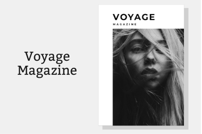 Magazine Template Vol. 18