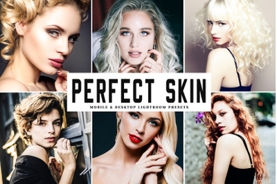 Perfect Skin Mobile & Desktop Lightroom Presets