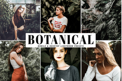 Botanical Mobile & Desktop Lightroom Presets