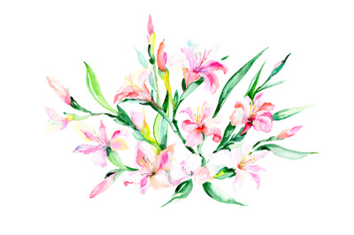 Danielle bouquet watercolor png