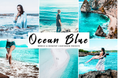Ocean Blue Mobile & Desktop Lightroom Presets