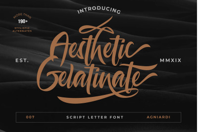 Morning Routine Script Hand By Font Studio Thehungryjpeg Com