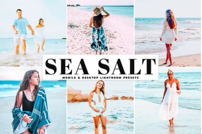 Sea Salt Mobile & Desktop Lightroom Presets