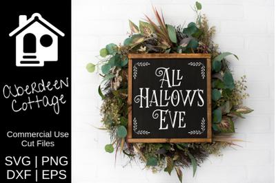 All Hallows Eve SVG