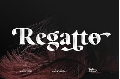 Regatto | Venetian Style Typeface