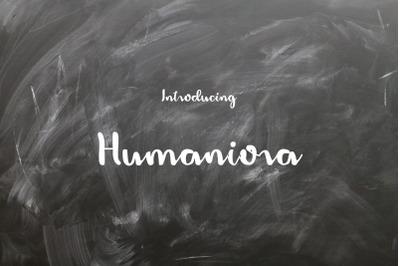 Humaniora Script Font