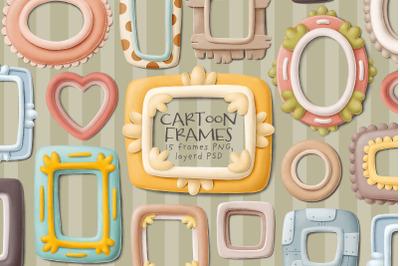 Cartoon Frames collection