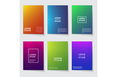 Abstract background. Modern covers with geometric line pattern. Minima