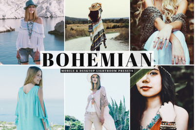 Bohemian Mobile & Desktop Lightroom Presets