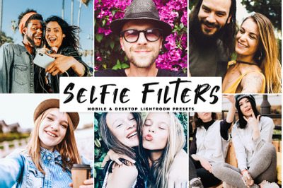 Selfie Filters Mobile & Desktop Lightroom Presets