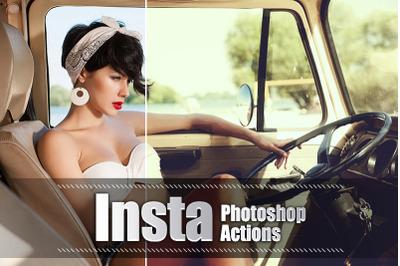 30 Insta Photoshop Actions