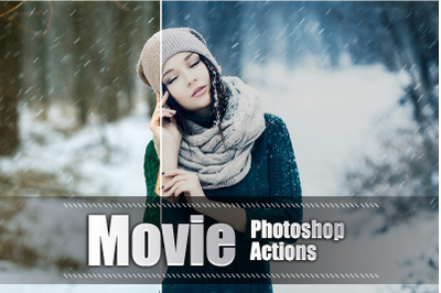 20 Movie Photoshop Actions