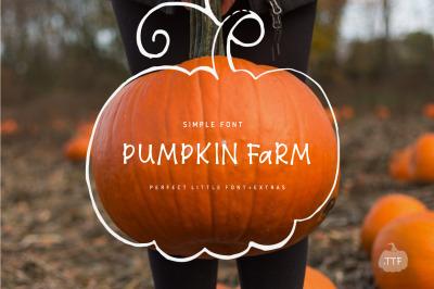 Pumpkin Farm Font