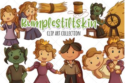 Rumplestiltskin Clip Art Collection