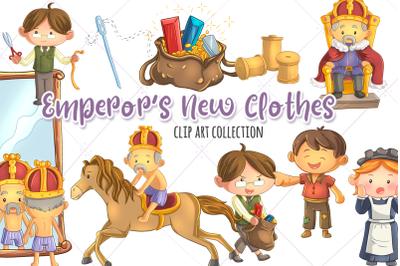 Emperor's New Clothes Clip Art Collection