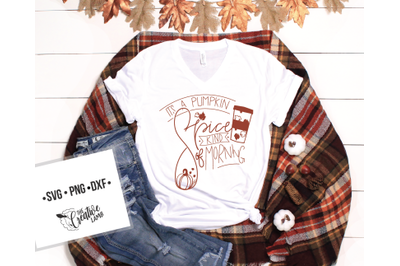 Hand Lettering Fall Cut-File  Pumpkin Spice svgs
