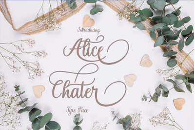 Alice Chater Scrip
