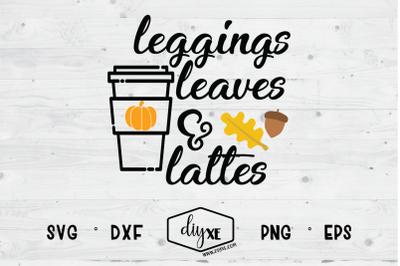 Leggings Leaves & Lattes