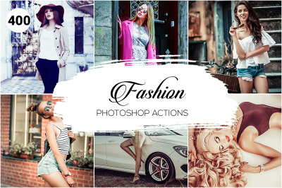 400 Fashion Photography Actions