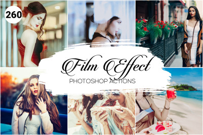 260 Film Effect Photoshop Actions