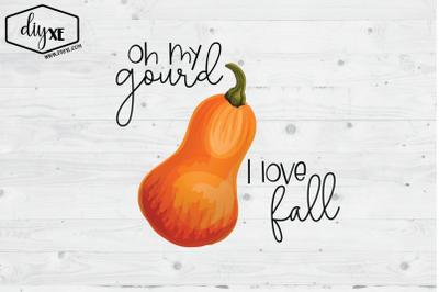 Oh My Gourd, I Love Fall