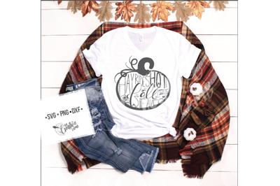Hand Lettering Fall Cut-file Pumpkin Svg