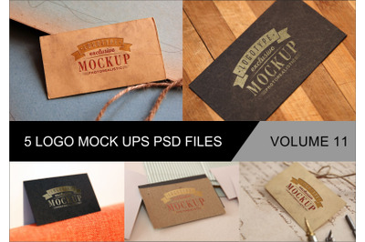 Photo Realistic Mock-ups Set of 5 V11