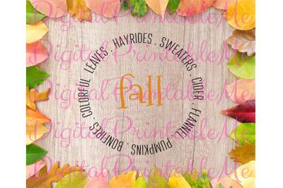 Fall SVG, Pumpkins, Hayrides, Leaves, flannel, Instant Download, Print