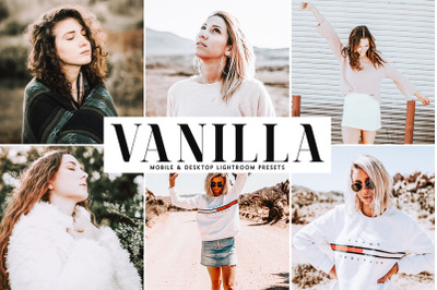 Vanilla Mobile & Desktop Lightroom Presets