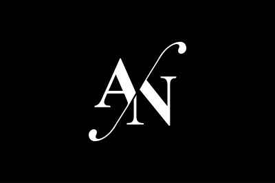 AN Monogram Logo design