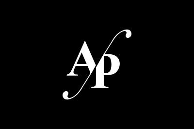 AP Monogram Logo design
